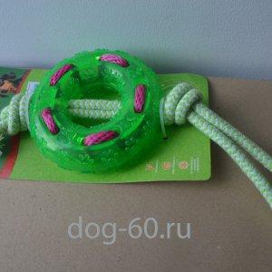Кольцо из термопластичной резины с веревками