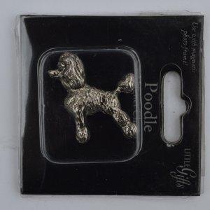 Магнит в форме собаки Пудель